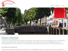 Screenshot der Domain glueckstaedter.com