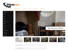 Screenshot der Domain gluecksvelo.de