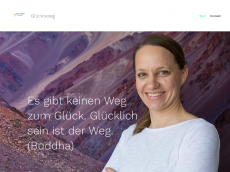Screenshot der Domain gluecksweg.de