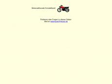 Screenshot der Domain glussi.de