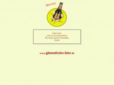 Screenshot von glutenfreies-bier.de