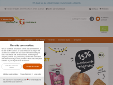 Screenshot der Domain glutenfreigeniessen.de