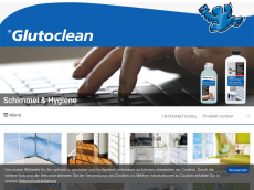 Screenshot der Domain glutoclean.de