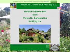 Screenshot der Domain glv-krailling.de