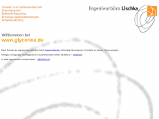 Screenshot der Domain glycerine.de