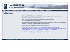 Screenshot der Domain hans-habbig.com