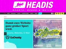 Screenshot der Domain headis.com