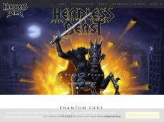 Screenshot von headlessbeast.de