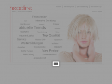Screenshot von headline-friseure.de