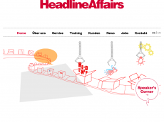 Screenshot der Domain headlineaffairs.com
