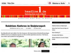 Screenshot der Domain headlineredaktion.de