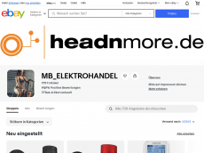 Screenshot der Domain headnmore.de
