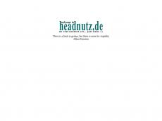 Screenshot der Domain headnutz.de