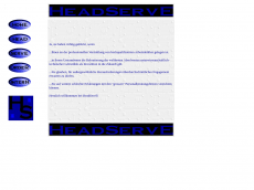 Screenshot der Domain headserve.de