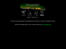 Screenshot der Domain headtrip.de