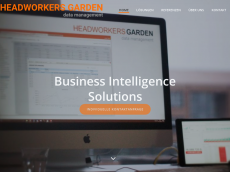 Screenshot der Domain headworkers-garden.de