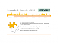 Screenshot der Domain headworkx.de