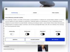 Screenshot der Domain healingcircle.de