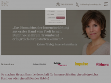 Screenshot der Domain healinghomedesign.de