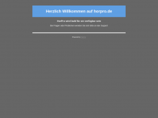 Screenshot der Domain horpro.de