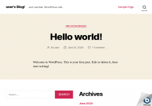 Screenshot der Domain horriar.de