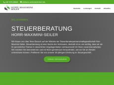 Screenshot von horrmaximini.de