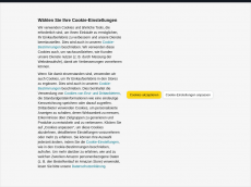 Screenshot der Domain horrormasken24.de