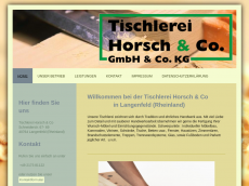 Screenshot der Domain horsch-co.de