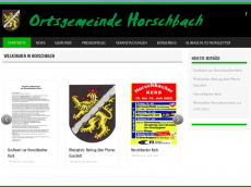Screenshot der Domain horschbach.com