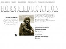 Screenshot von horse-education.de