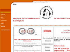Screenshot der Domain horse-fun-welver.de