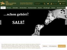 Screenshot der Domain horse-hound-tack-shop.de