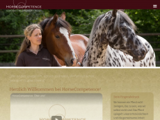 Screenshot der Domain horse-kompetenz.de