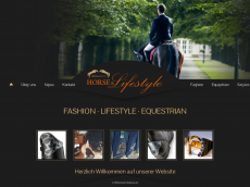 Screenshot der Domain horse-lifestyle.de