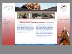 Screenshot der Domain horse-therapie.de