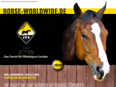 Screenshot der Domain horse-worldwide.de