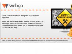 Screenshot der Domain howgozit.de