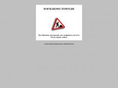 Screenshot der Domain howi-town.de