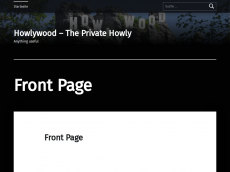 Screenshot der Domain howlywood.de