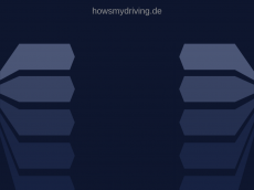 Screenshot der Domain howsmydriving.de