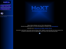Screenshot der Domain hoxt.de