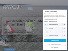 Screenshot der Domain hoyc.de