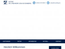 Screenshot der Domain hoyenberg.de