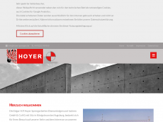 Screenshot der Domain hoyer-abbruch.de