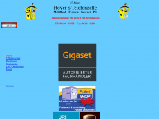 Screenshot von hoyer-telefonzelle.de