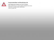 Screenshot der Domain hoyerswerdaer-schlossbraeu.de