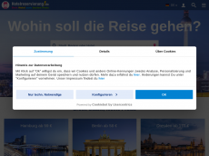 Screenshot der Domain hozelreservierung.de