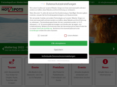 Screenshot der Domain hozspot.de