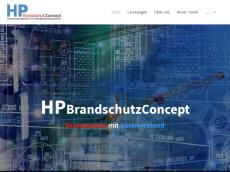 Screenshot der Domain hp-brandschutzconcept.de