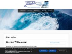 Screenshot der Domain hr-wasserstrahlschneiden.de